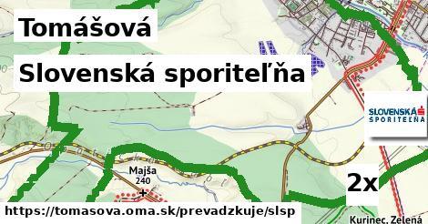 Slovenská sporiteľňa v Tomášová