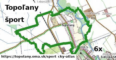 šport v Topoľany