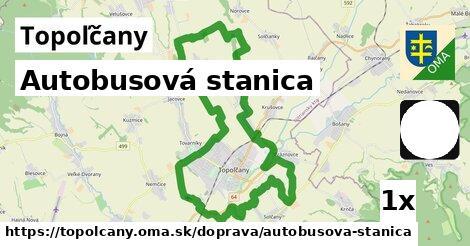 autobusová stanica v Topoľčany