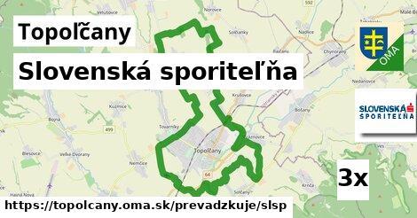 Slovenská sporiteľňa v Topoľčany