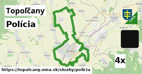 polícia v Topoľčany