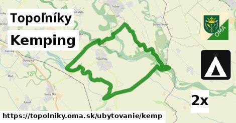 kemping v Topoľníky