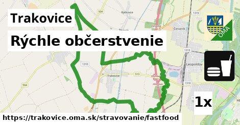 rýchle občerstvenie v Trakovice