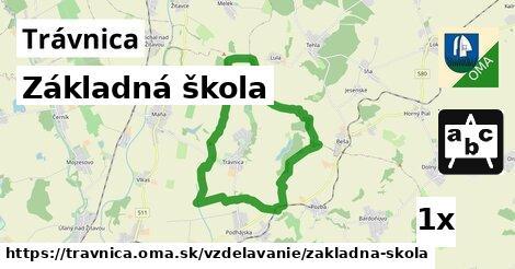 ilustračný obrázok k Základná škola, Trávnica