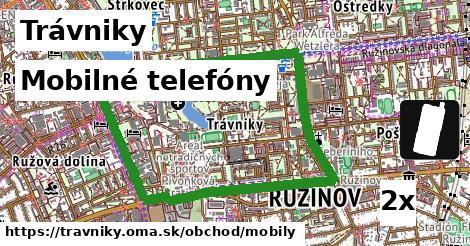 mobilné telefóny v Trávniky