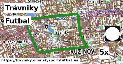 futbal v Trávniky
