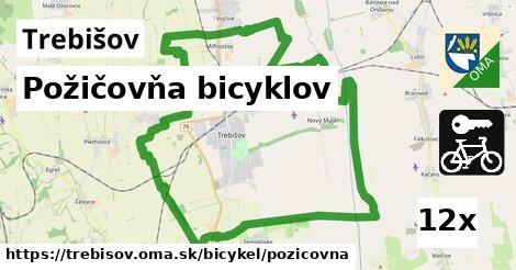 Požičovňa bicyklov, Trebišov