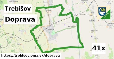 doprava v Trebišov
