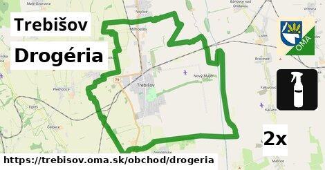 Drogéria, Trebišov