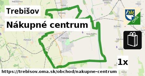 Nákupné centrum, Trebišov