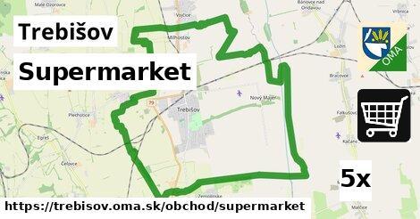 supermarket v Trebišov