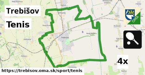 Tenis, Trebišov