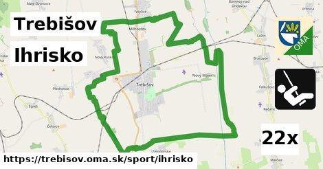 ihrisko v Trebišov