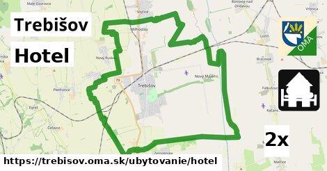 Hotel, Trebišov