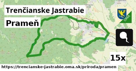 ilustračný obrázok k Prameň, Trenčianske Jastrabie