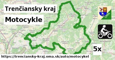 motocykle v Trenčiansky kraj