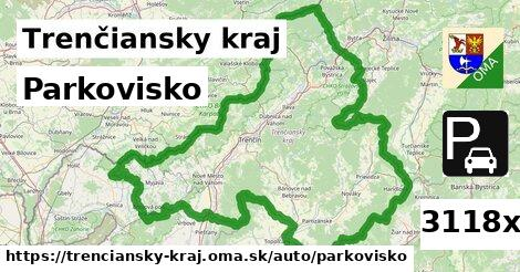 parkovisko v Trenčiansky kraj