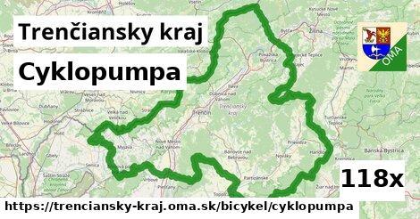 ilustračný obrázok k Cyklopumpa, Trenčiansky kraj