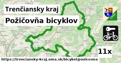 ilustračný obrázok k Požičovňa bicyklov, Trenčiansky kraj