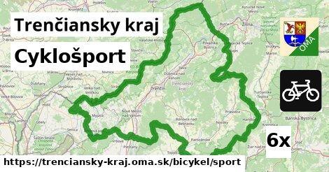 ilustračný obrázok k Cyklošport, Trenčiansky kraj