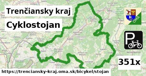 ilustračný obrázok k Cyklostojan, Trenčiansky kraj