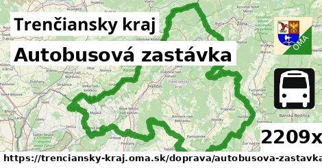 ilustračný obrázok k Autobusová zastávka, Trenčiansky kraj