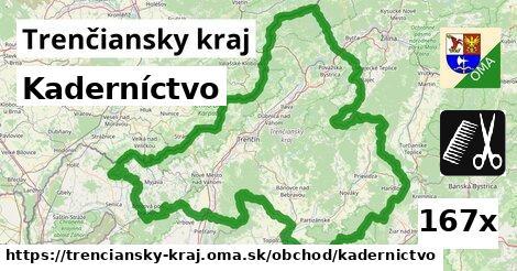 ilustračný obrázok k Kaderníctvo, Trenčiansky kraj