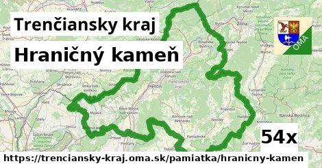 ilustračný obrázok k Hraničný kameň, Trenčiansky kraj
