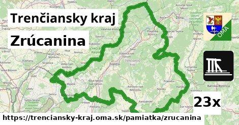 ilustračný obrázok k Zrúcanina, Trenčiansky kraj