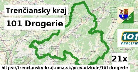 101 Drogerie v Trenčiansky kraj
