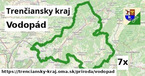 vodopád v Trenčiansky kraj