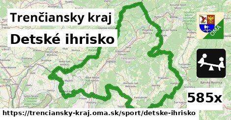 ilustračný obrázok k Detské ihrisko, Trenčiansky kraj