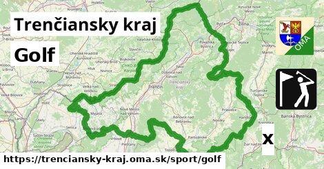 golf v Trenčiansky kraj