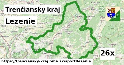 lezenie v Trenčiansky kraj