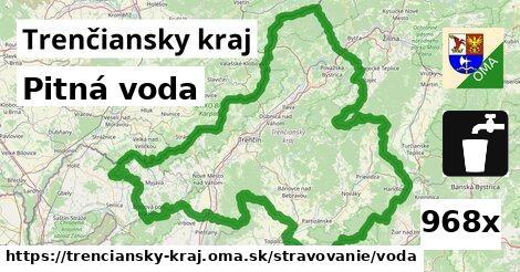 Pitná voda, Trenčiansky kraj