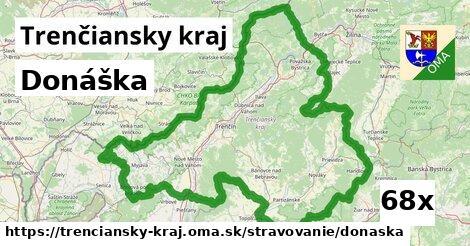 donáška v Trenčiansky kraj