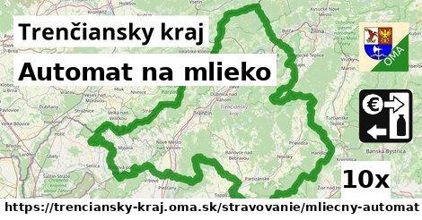 ilustračný obrázok k Automat na mlieko, Trenčiansky kraj