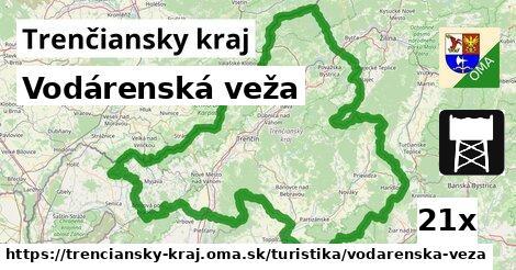 ilustračný obrázok k Vodárenská veža, Trenčiansky kraj