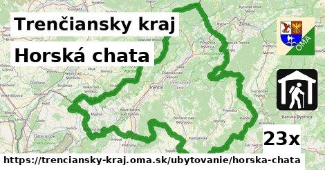 horská chata v Trenčiansky kraj
