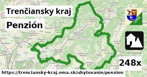 penzión v Trenčiansky kraj