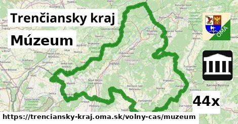 ilustračný obrázok k Múzeum, Trenčiansky kraj