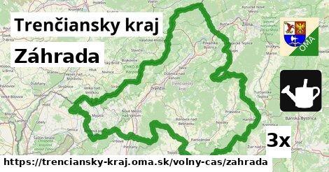 ilustračný obrázok k Záhrada, Trenčiansky kraj