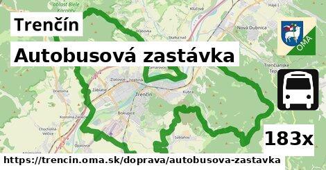 ilustračný obrázok k Autobusová zastávka, Trenčín