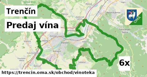 ilustračný obrázok k Predaj vína, Trenčín