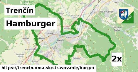 ilustračný obrázok k Hamburger, Trenčín