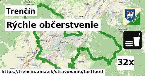 rýchle občerstvenie v Trenčín