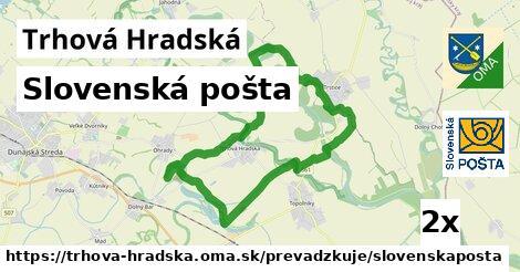 Slovenská pošta v Trhová Hradská