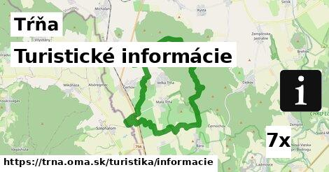 turistické informácie v Tŕňa