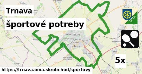 športové potreby v Trnava