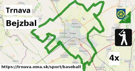 ilustračný obrázok k Bejzbal, Trnava